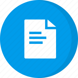 document file, file, page, sheet, text, text document icon