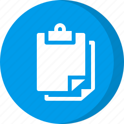 clip, clipboard, note, notes, post icon