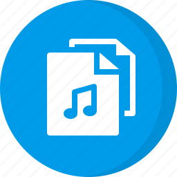 file, files, mp3, music files, song files icon