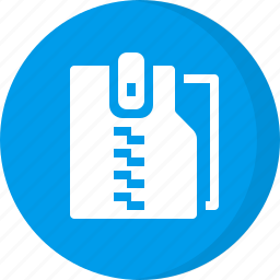 archieve, archive, compressed folder, zip, zip folder icon