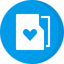 bookmark, favorite, favorite folder, favourite, folder, heart, like icon