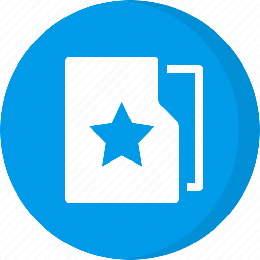 bookmark, favorite, favourite, folder, star, stared folder icon