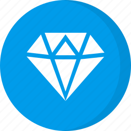 diamond, finance, gem, gemstone icon
