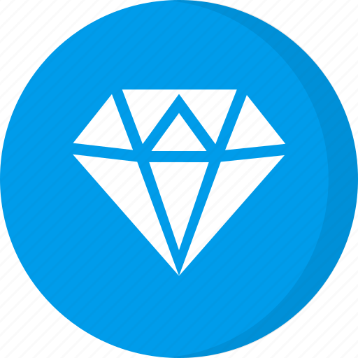diamond, finance, gem, gemstone icon