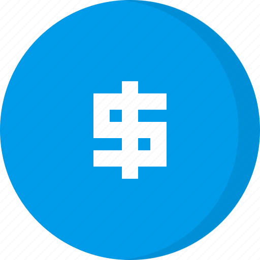 cash, coins, currency, dollar, finance, money icon