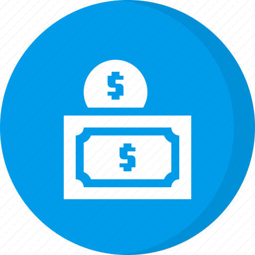 cash, coin, currency, dollar, doller, finance, money icon