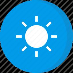 forecast, sun, sunny, weather icon