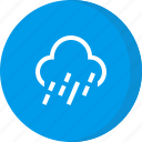 cloud, forecast, rain, raining, weather icon