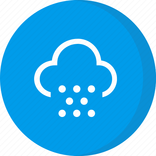 cloud, cold, hail, snow, weather icon