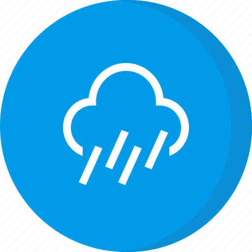 cloud, forecast, heavy rain, weather icon