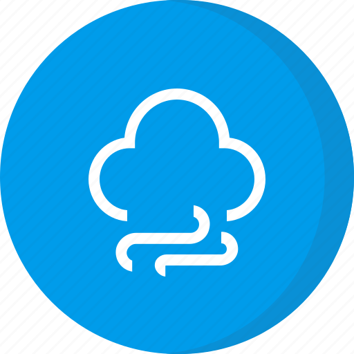 cloud, forecast, weather, windy icon