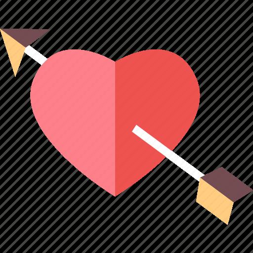 arrow, arrows, love, move, navigation, valentine, wedding icon