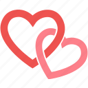 wedding, heart, love, valentine, happy, romantic icon