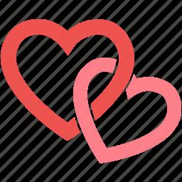 happy, heart, love, romantic, valentine, wedding icon