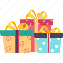 wedding, gift, gift box, like, romance, valentine, christmas icon