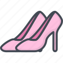 celebration, female, married, party, shoes, wedding, woman icon