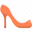 fashion, footwear, heel, high, shoe, shoes, woman icon