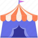 adventure, camp, camping, nature, outdoor, tent, trip icon