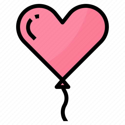 balloon, love, party, wedding icon