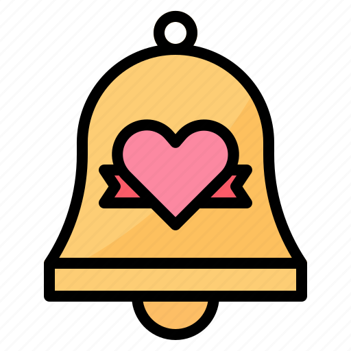 Bell, love, married, wedding icon - Download on Iconfinder