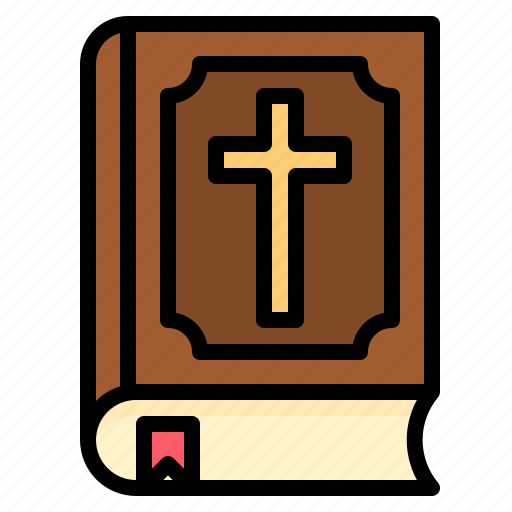 bible, holy, married, wedding icon