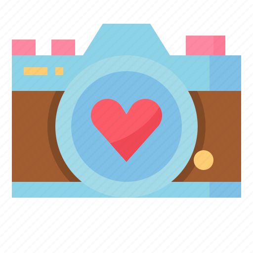 camera, love, married, wedding icon