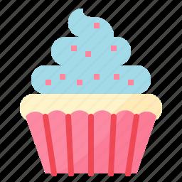 bakery, cake, cup, dessert icon
