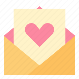 envelope, letter, love, married, wedding icon