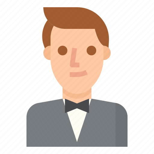 Formal, groom, man, suit, wedding icon - Download on Iconfinder