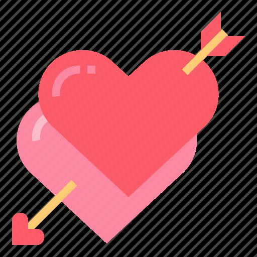 hearts, love, loving, wedding icon