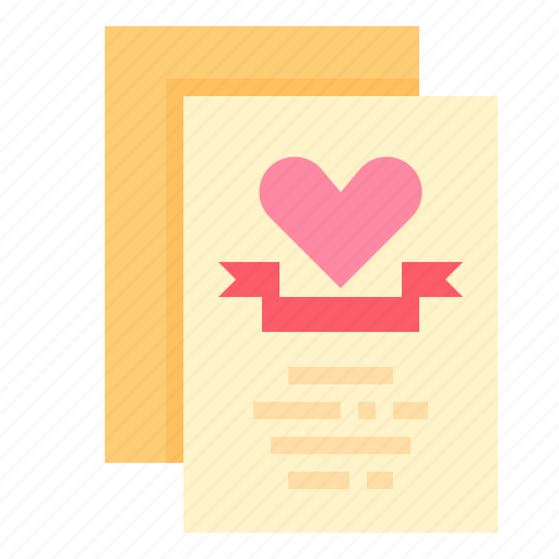 card, invitation, married, wedding icon