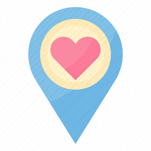 Location, love, married, navigation, wedding icon - Download on Iconfinder