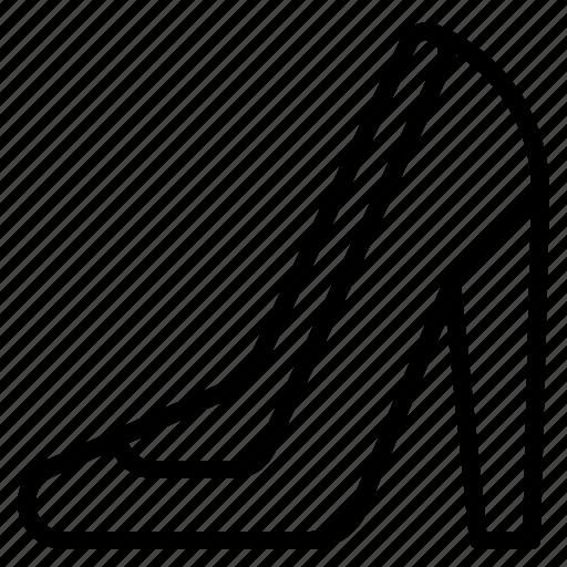 beauty, heels, high, stilettos icon