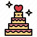 cake, dessert, sweet, day, wedding icon
