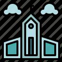 buildings, christian, church, religion, temple icon