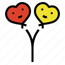 balloon, love, party, wedding icon