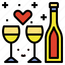 celebration, champagne, drink, party icon