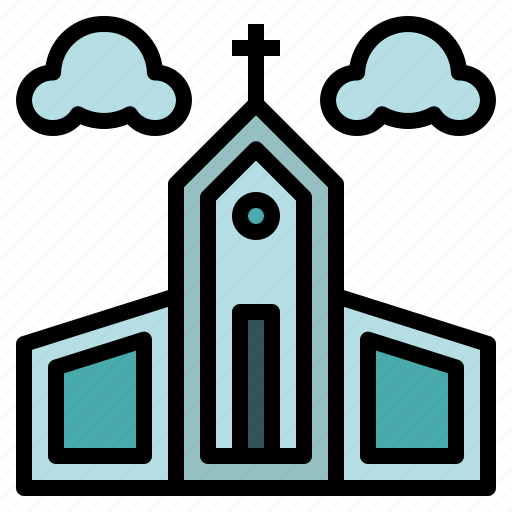 buildings, christian, church, religion, temple icon