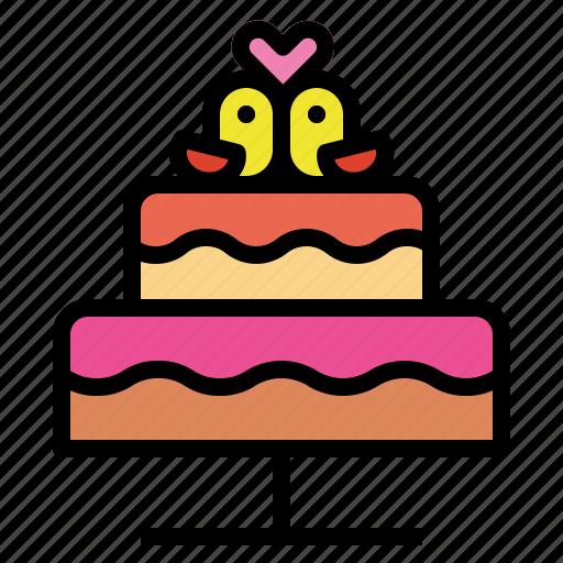 bakery, cake, dessert, wedding icon
