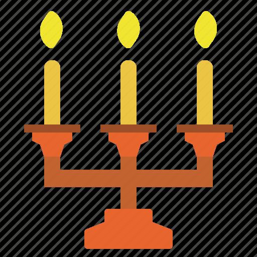 candlestick, decorret, dinner, light, romantic icon