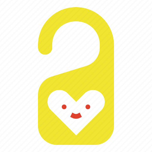 Disturb, do, hotel, love, not, room, sign icon - Download on Iconfinder