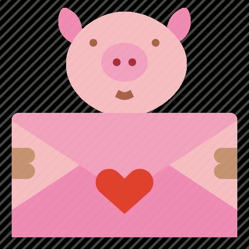 card, envelope, invitation, letter icon