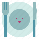 food, fork, knife, utensils icon