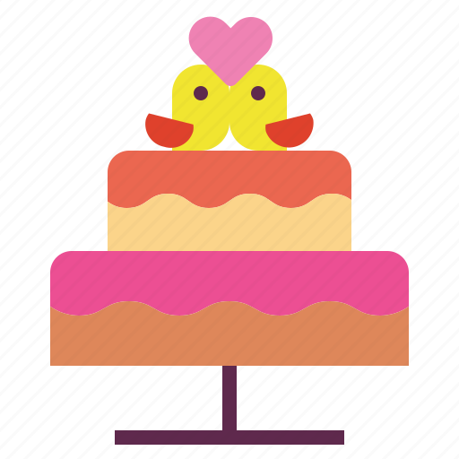 bakery, cake, dessert, wedding icon