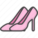 colored, heels, holidays, wedding, women icon