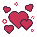 favorite, heart, love, romance, wedding icon