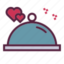 dating, dinner, love, love dinner, valentine, wedding icon