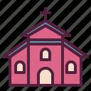 building, christian, church, wedding, worship icon