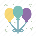 baloon, baloons, birthday, decoration, party, wedding icon