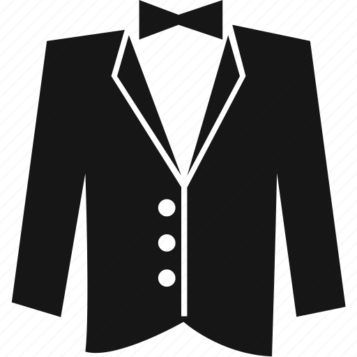 clothes, clothing, groom, suit, tuxedo icon